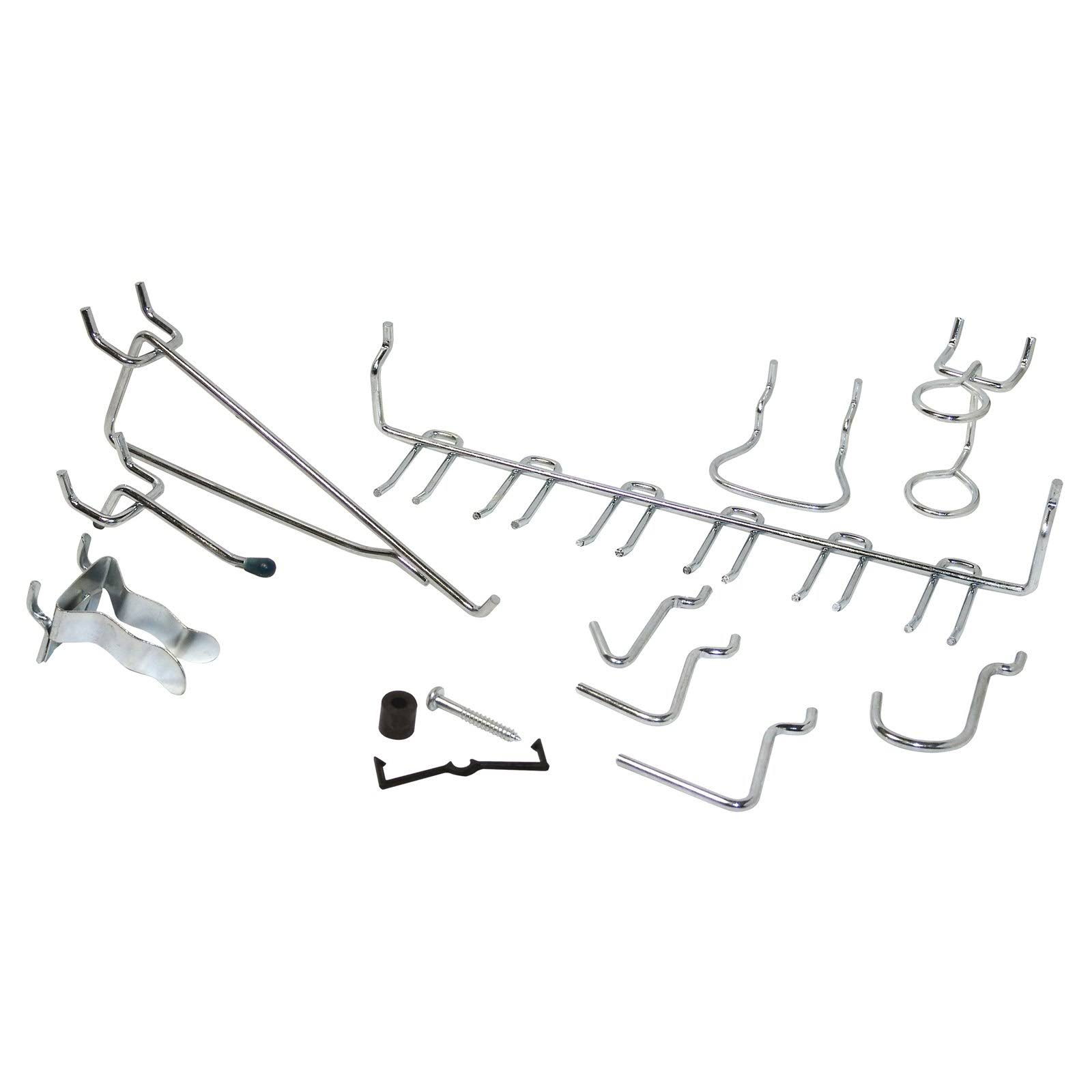 Crawford Products Peg Hook - 47 Pieces