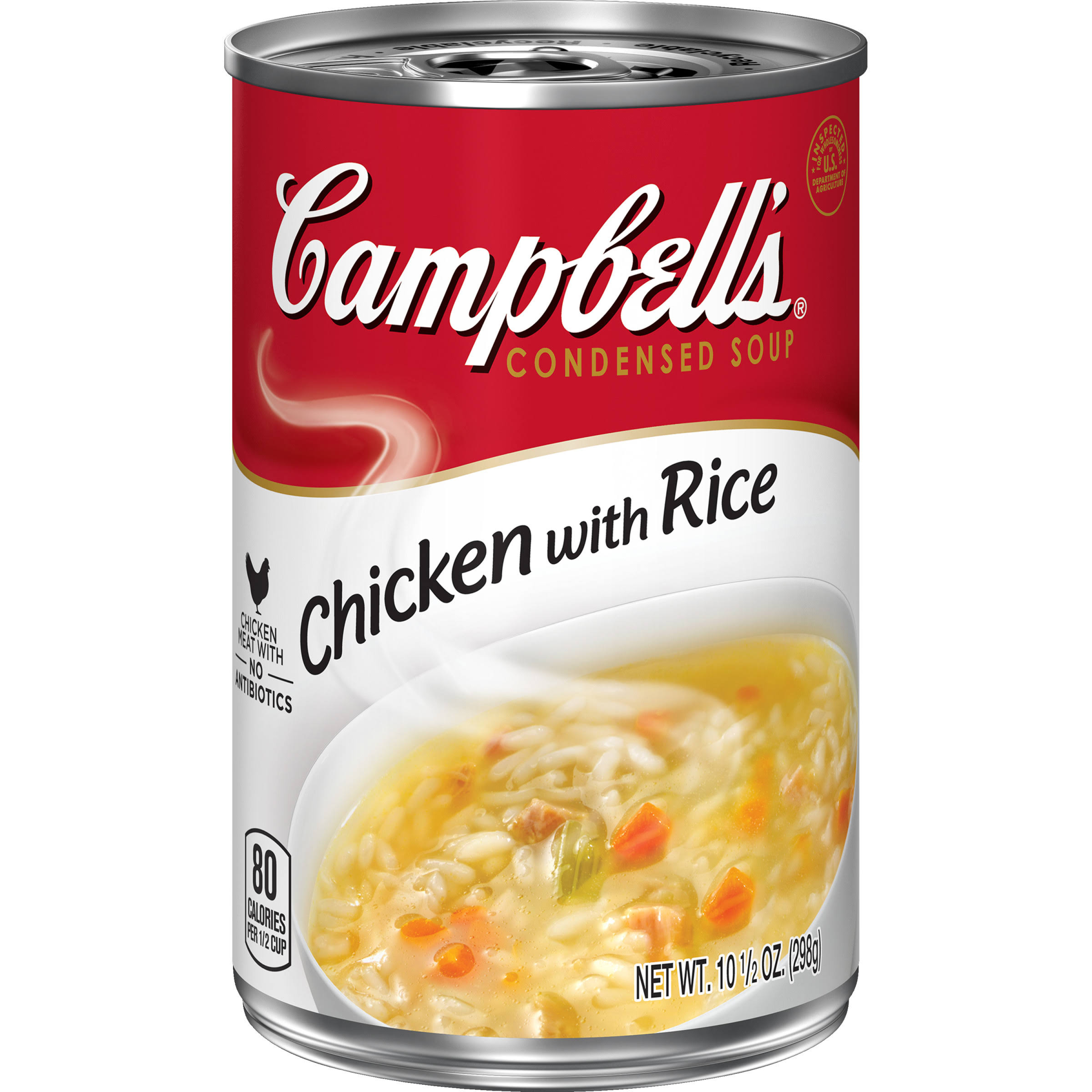 Campbell's Condensed Soup - Chicken with Rice, 10 1/2oz