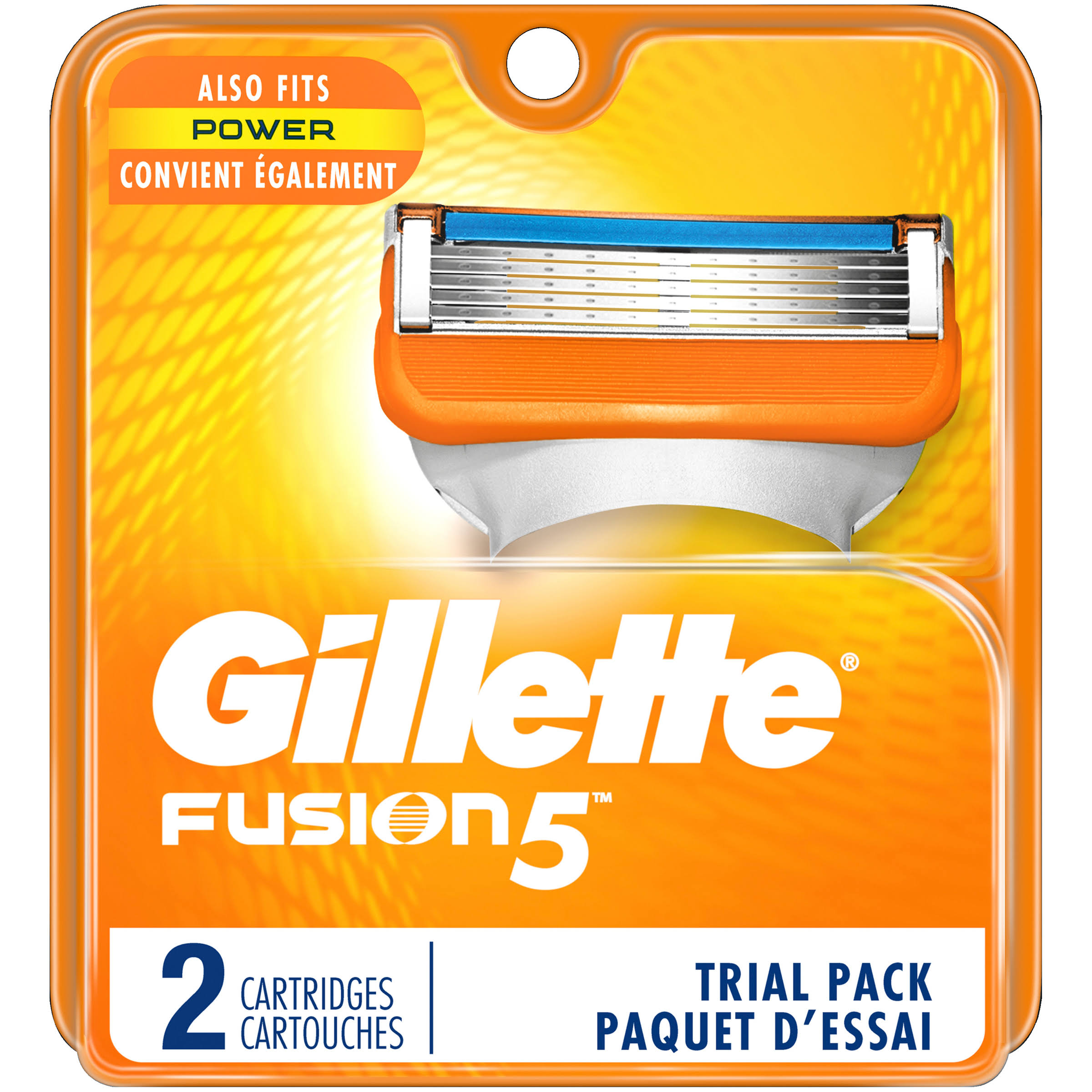 Gillette Fusion 5 Cartridges Trial Pack - 2ct