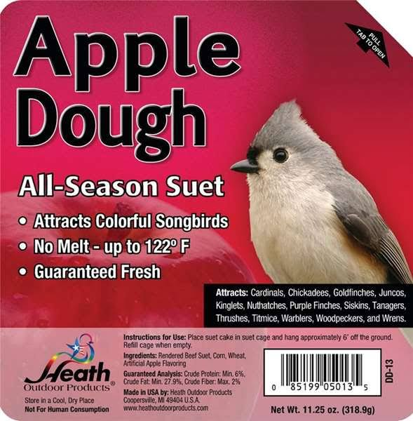 Heath Outdoor Products Apple Dough Suet Cake