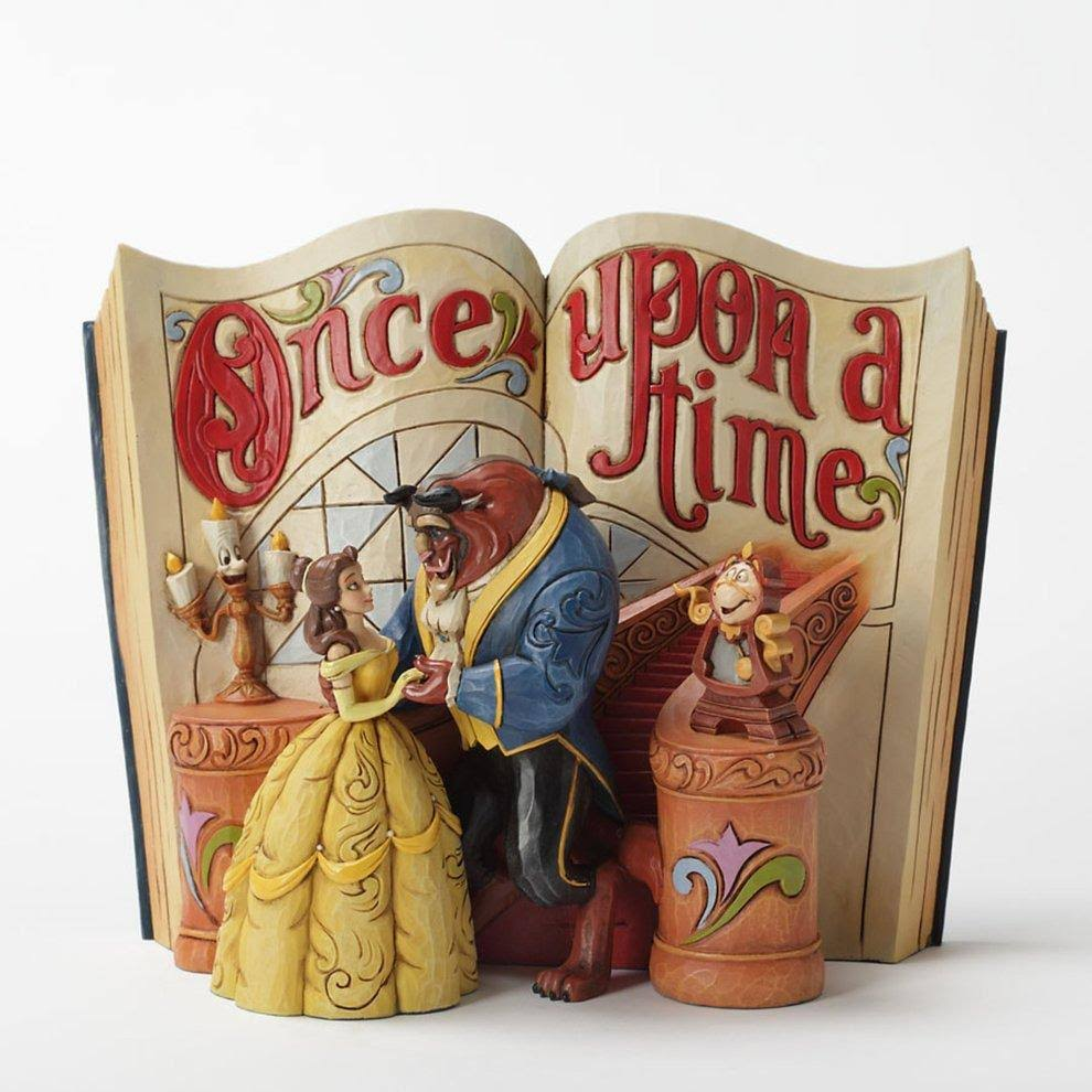 Beauty and the Beast Storybook Figurine