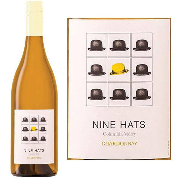 Nine Hats Columbia Valley Chardonnay Washington 2016