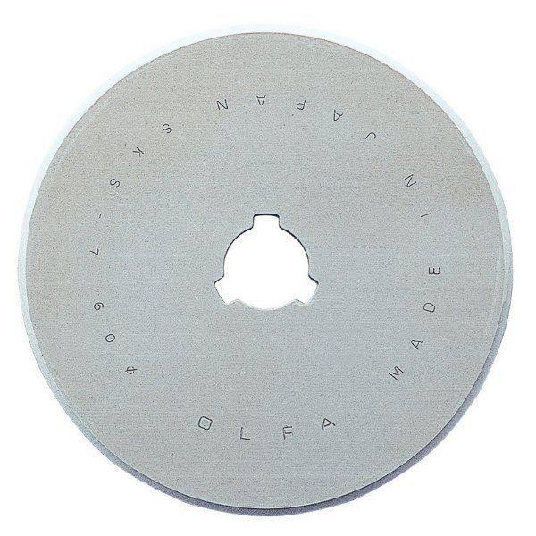 Olfa Rotary Cutter Replacement Cutting Blade - 60mm