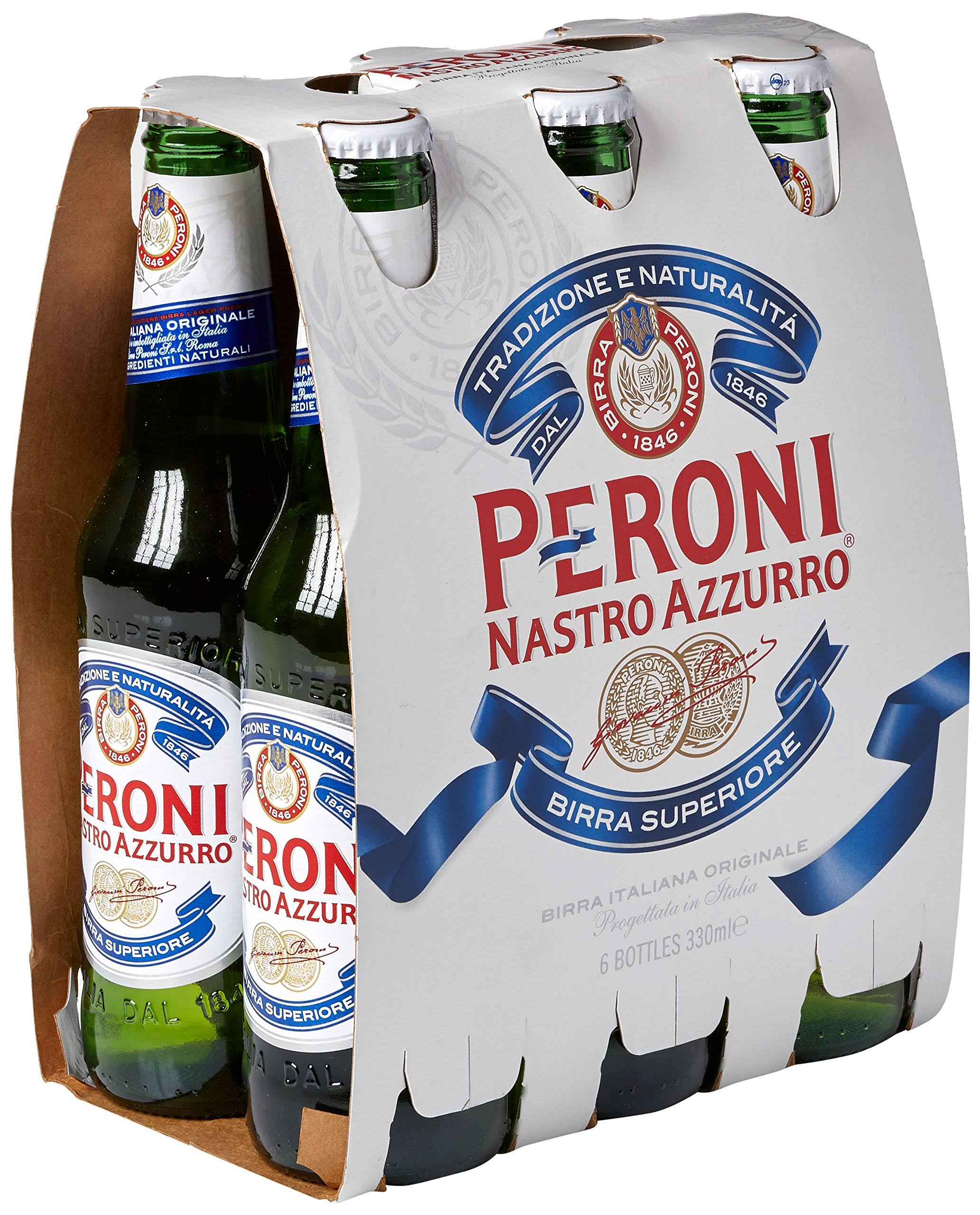 Peroni Italian Beer - 6ct, 330ml