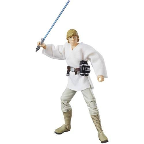 Star Wars The Black Series 40th Anniversary Action Figure Toy - Luke Skywalker