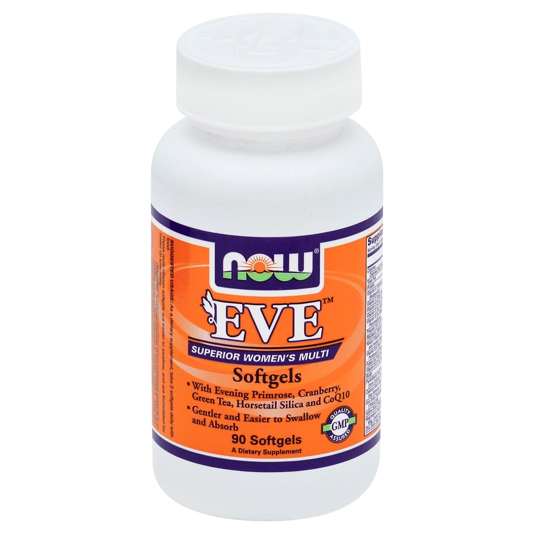 Now Foods Eve Women's Multivitamin - 90 Softgels