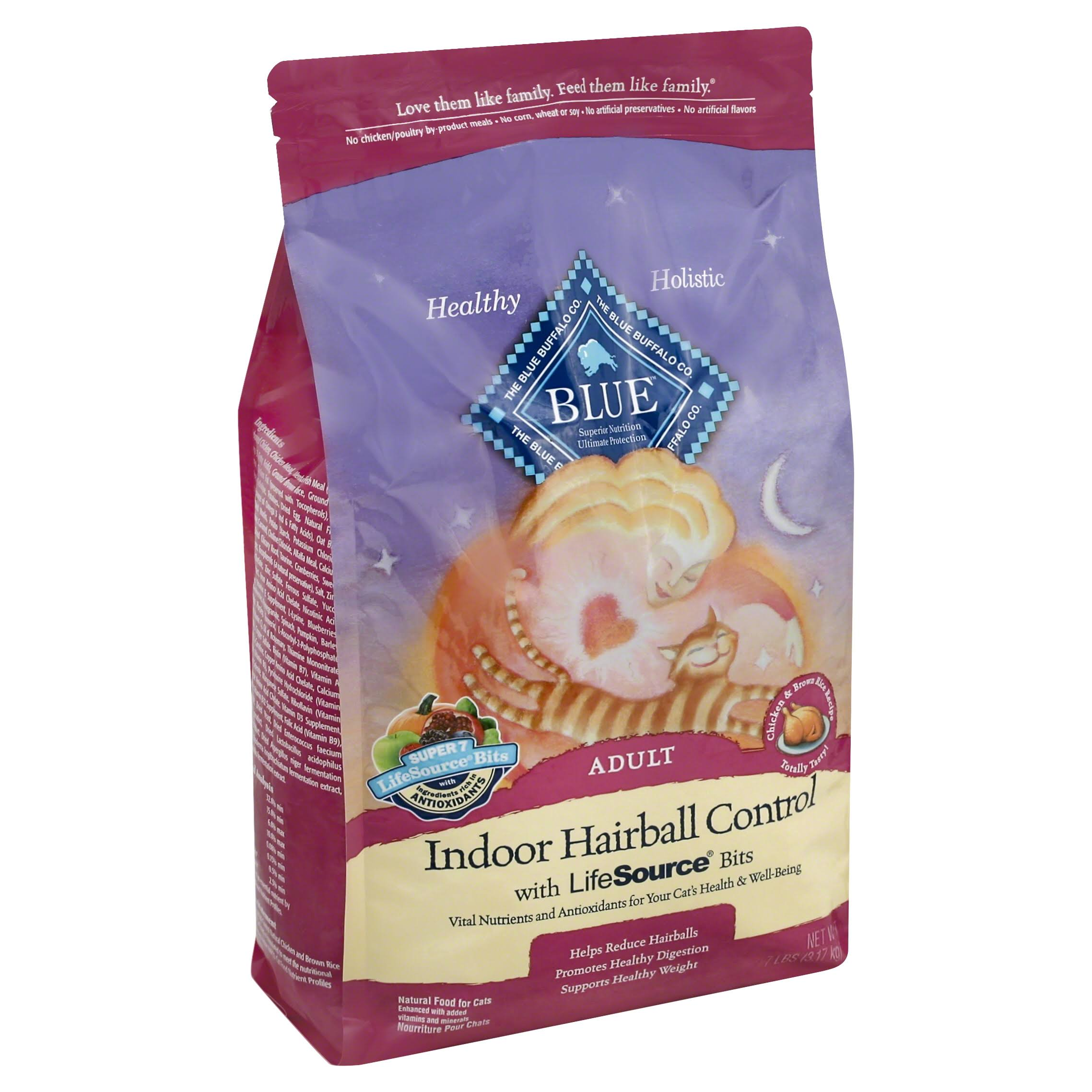 Blue Buffalo Company Indoor Hairball Control Cat Food - Chicken