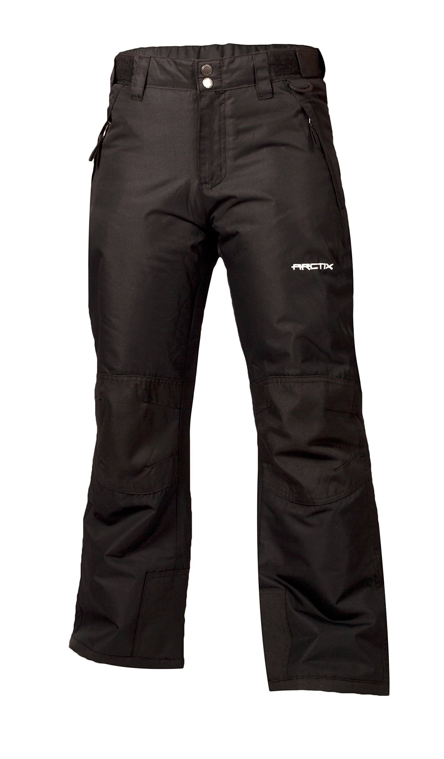 Arctix Youth Reinforced Snow Pants Insulated - Black
