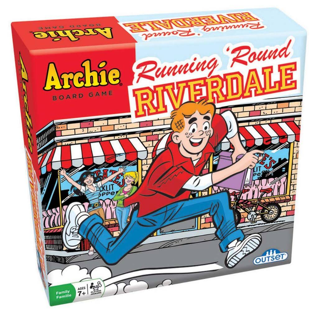 The Archie Comics Running Round Riverdale Board Game