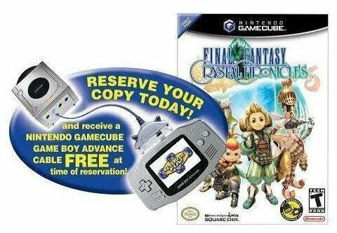 Final Fantasy Crystal Chronicles with Bonus GameCube/GBA Link Cable