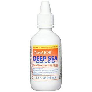 Major Deep Sea Premium Saline Nasal Moisturizing Spray - 44ml