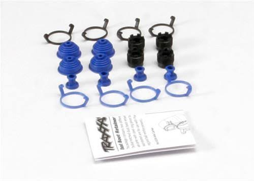 Traxxas 5378X Pivot Ball Caps & Dust Boots, 4 each