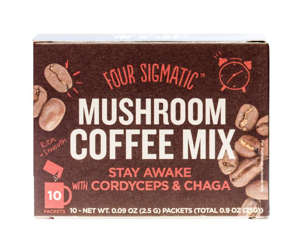 Four Sigmatic Mushroom Coffee Mix - 10ct