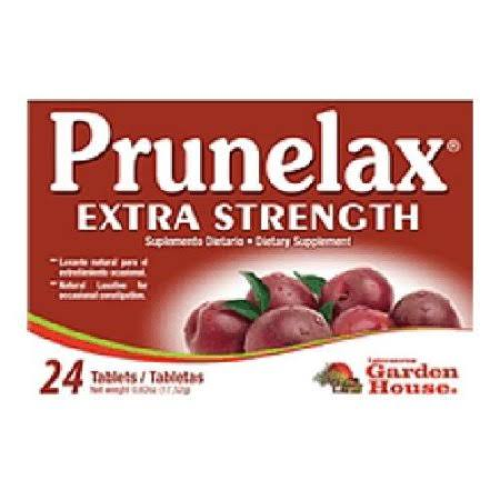 Prunelax Ciruelax Maximum Relief Natural Laxative - 24 Tablets