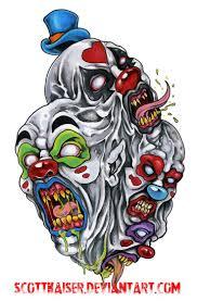 Evil Clown Pumpkin Stencils by 19 Best Tattoo Flash Of Clowns Images On Pinterest