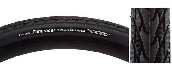 Panaracer TourGuard Bicycle Tire - 700 x 35, 2 Pack