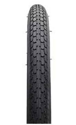 "Kenda S-5 K-62 Vintage Schwinn Wire Bead Bike Tire - Black, 24""x 1.25/1.375mm"
