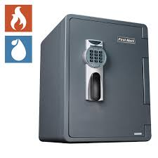 Fire Safe File Cabinet by First Alert 2 14 Cuft Digital Ready Seal Waterproof Fire Resistant