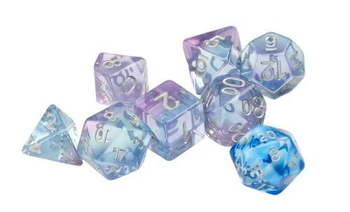 Sirius Dice Polyroller RPG Polyhedral Dice - Set of 7