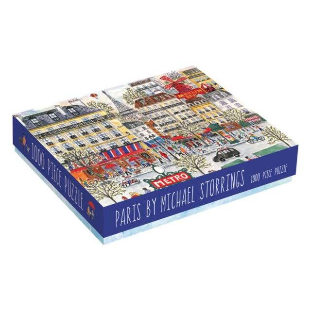 Michael Storrings Paris Puzzle - 1000 Pieces