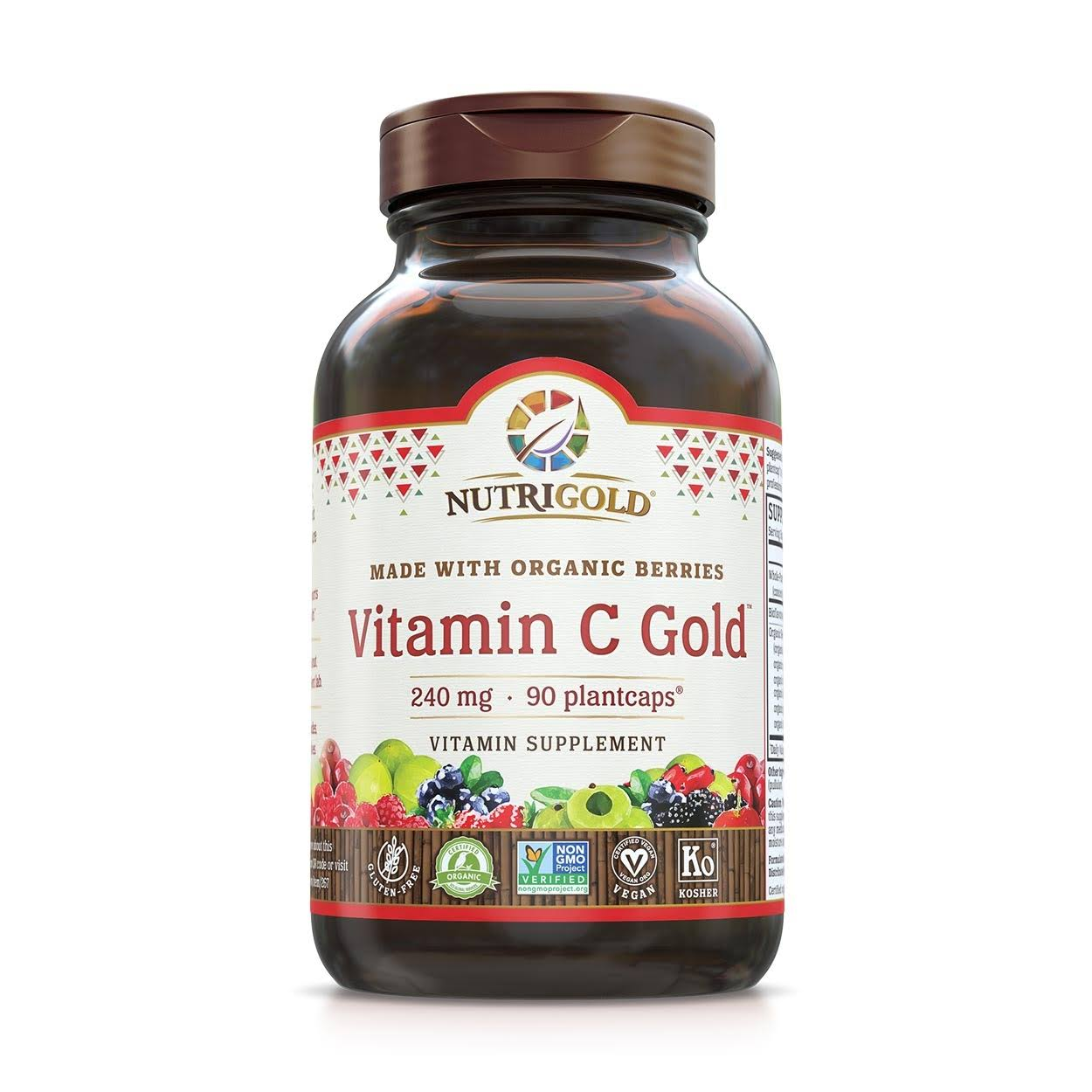 NutriGold Vitamin C Gold - 240mg, 90 Capsules