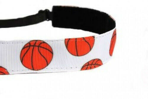Mavi Bandz Adjustable Non-Slip Fitness Headband - Basketball