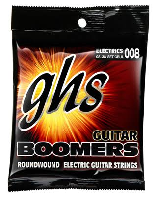 GHS GBUL Boomers Ultra Light Electric Guitar Strings - 008