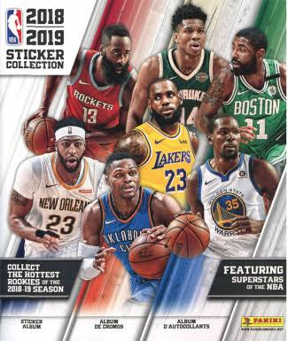 NBA Basketball Panini 2018-19 Sticker Collection Album