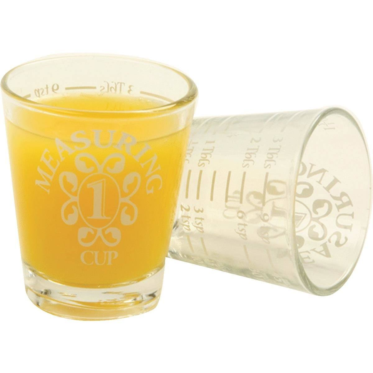 Norpro Glass Measuring Shot Glasses