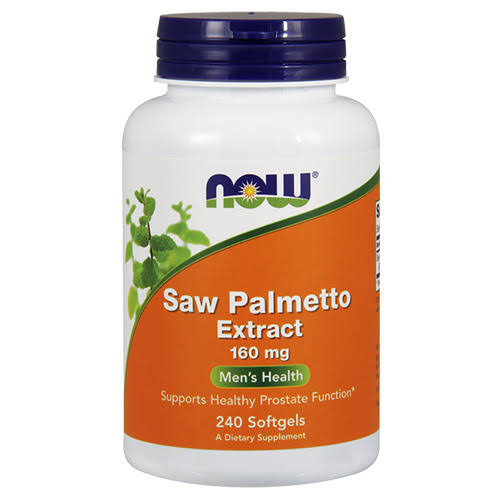 Now Foods Saw Palmetto Extract - 160mg, 240gels