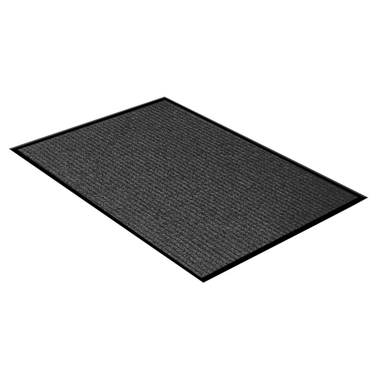 "WJ Dennis and Company Survivor Utility Carpet Mat - Dark Grey, 36"" X 48"""