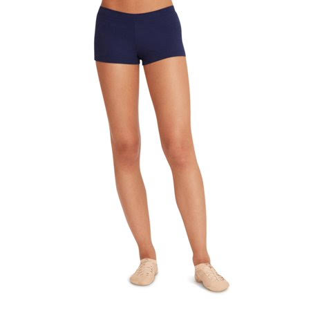 Capezio Boy Cut Low Rise Shorts - Medium - Navy