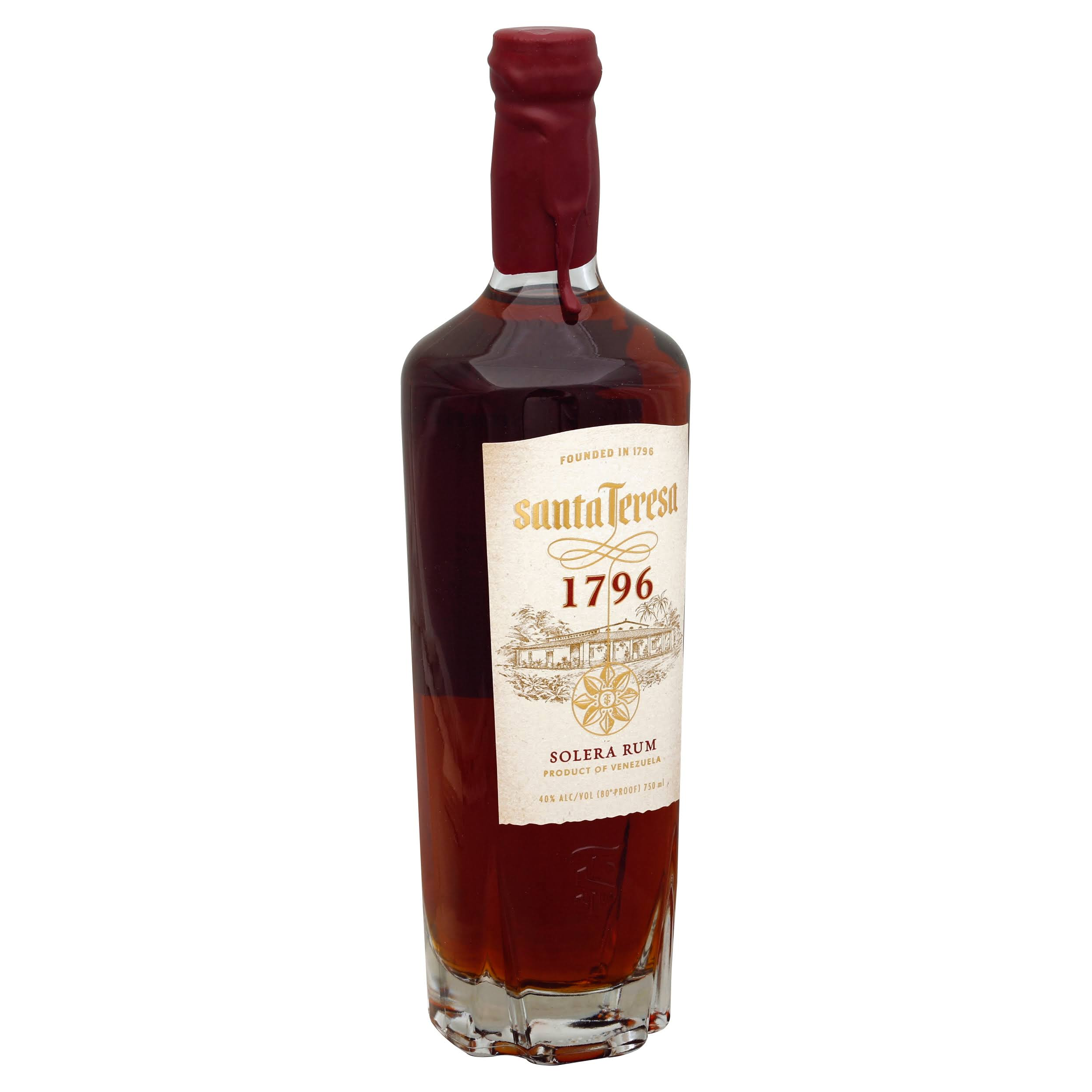 Santa Teresa 1796 Solera Rum - 750 ml bottle