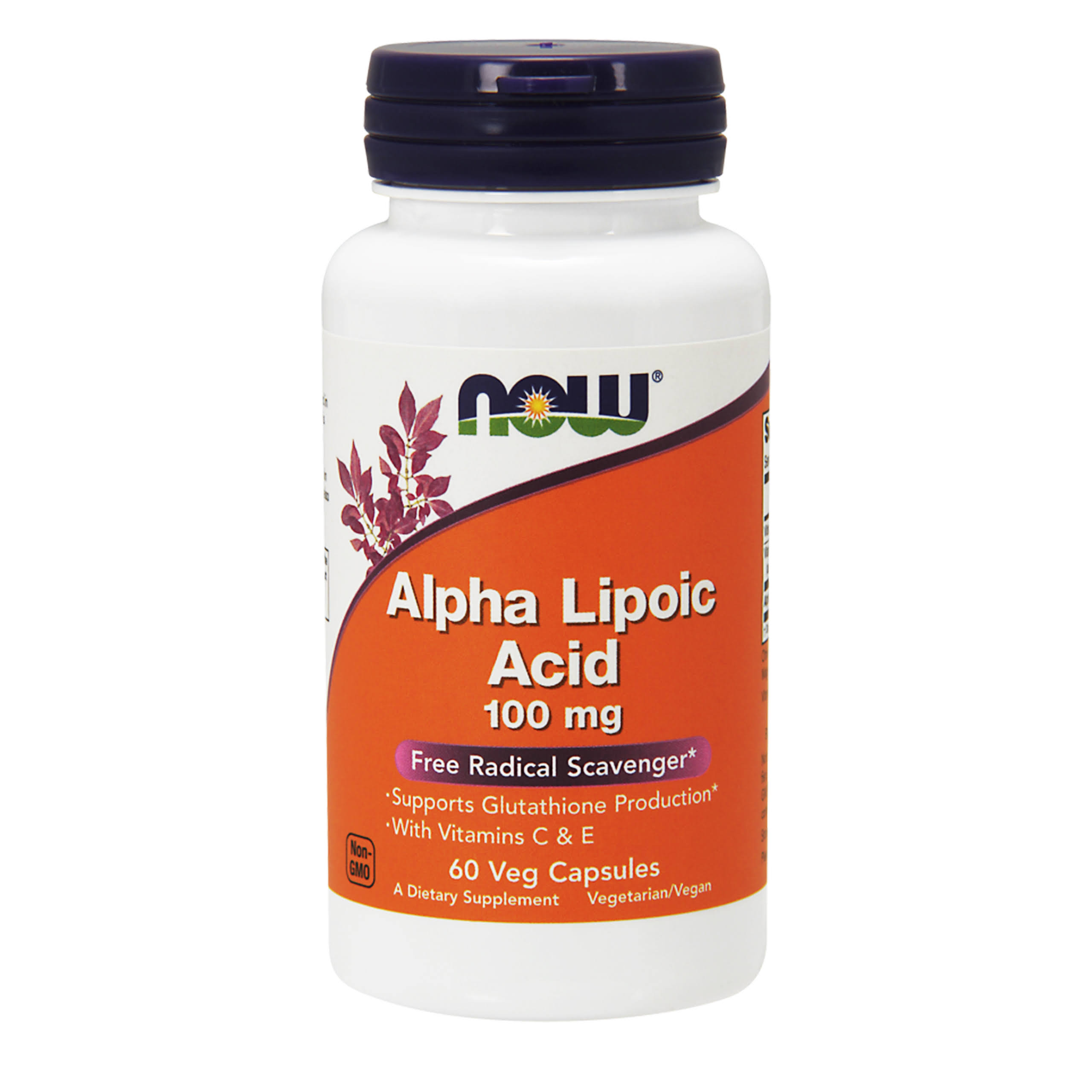 Now Foods Alpha Lipoic Acid - 100mg, x60