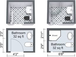 Basement Bathroom Designs Plans by Small Bathroom Design Plans Small Bathroom Floor Plans Possible