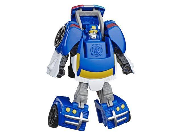 Playskool Heroes Transformers Rescue Bots Academy Chase The Police-Bot Converting Toy Robot