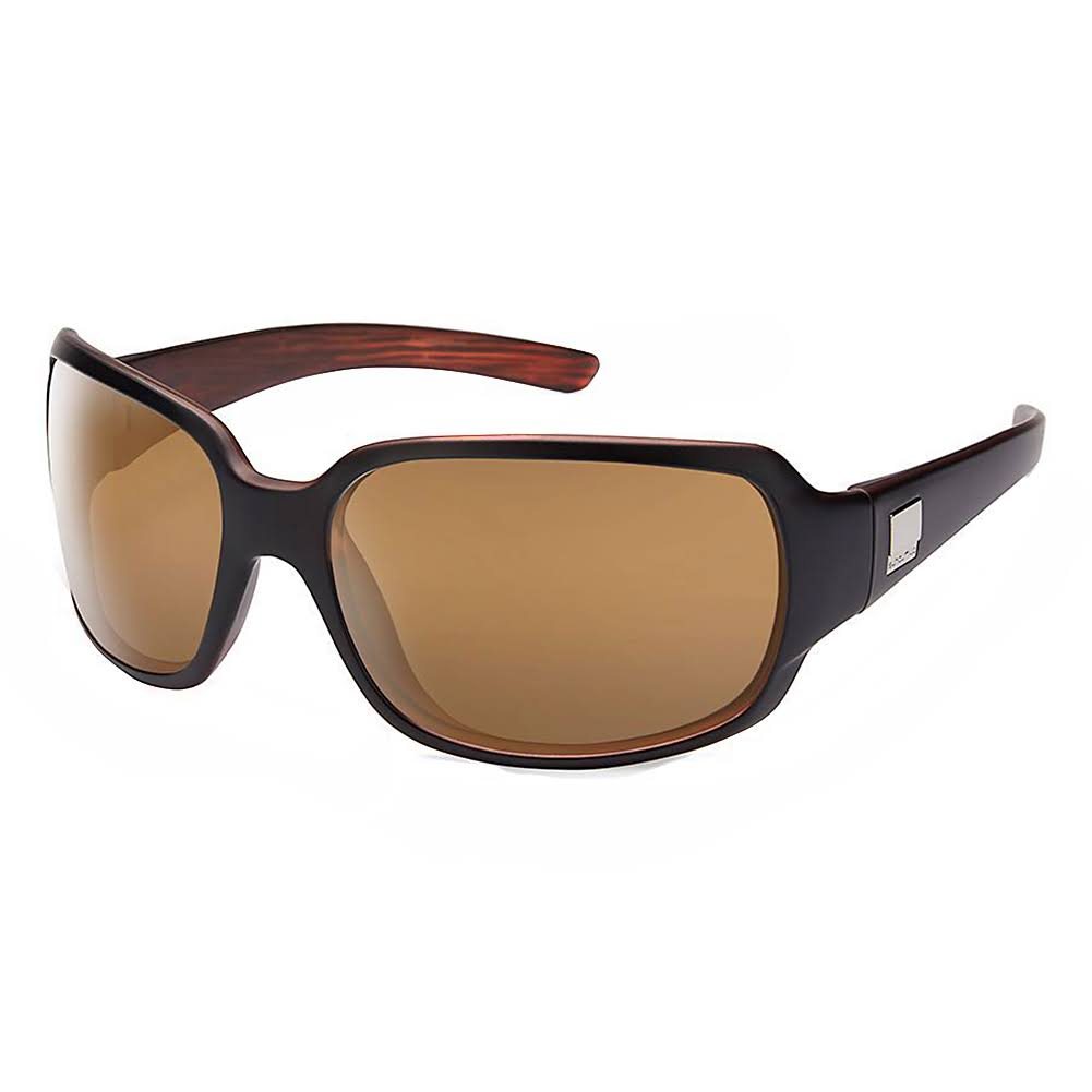 Suncloud Cookie Sunglasses - Mt Black Backpaint Frame, Sienna Mirror Polycarbonate