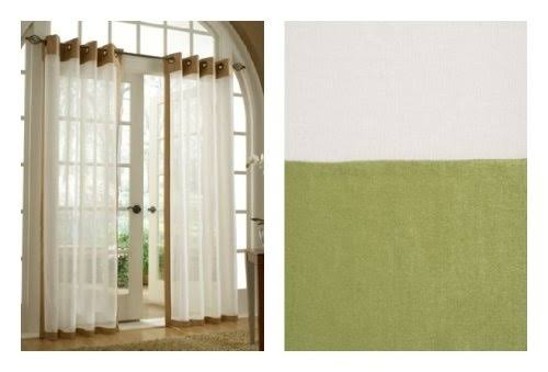 Stylemaster Soho Tailored Grommet Panel, 55 x 95, Moss
