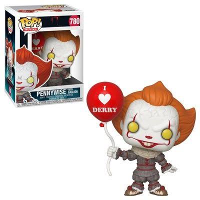 Funko 40630 POP! Vinyl: Movies: IT Chapter 2 - Pennywise with Balloon, Collectible Figure