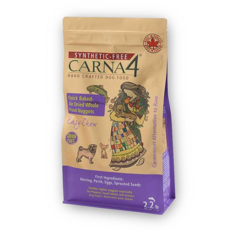 Carna4 Easy Chew Grain Free Fish Formula Dog Food 2.2lb