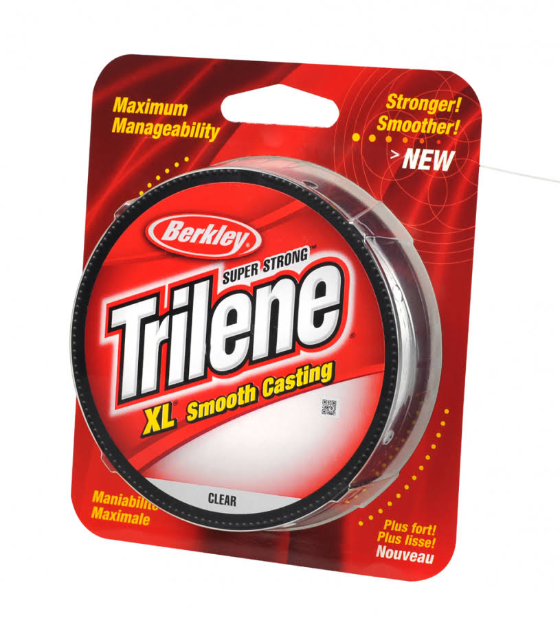 Berkley Trilene Xl Filler Fishing Line - 2.7kg Test, 330yds, Clear