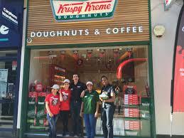 Krispy Kreme Halloween Donuts Calories by Krispy Kreme Uk Holborn Has A New Look Uk Stores Pinterest