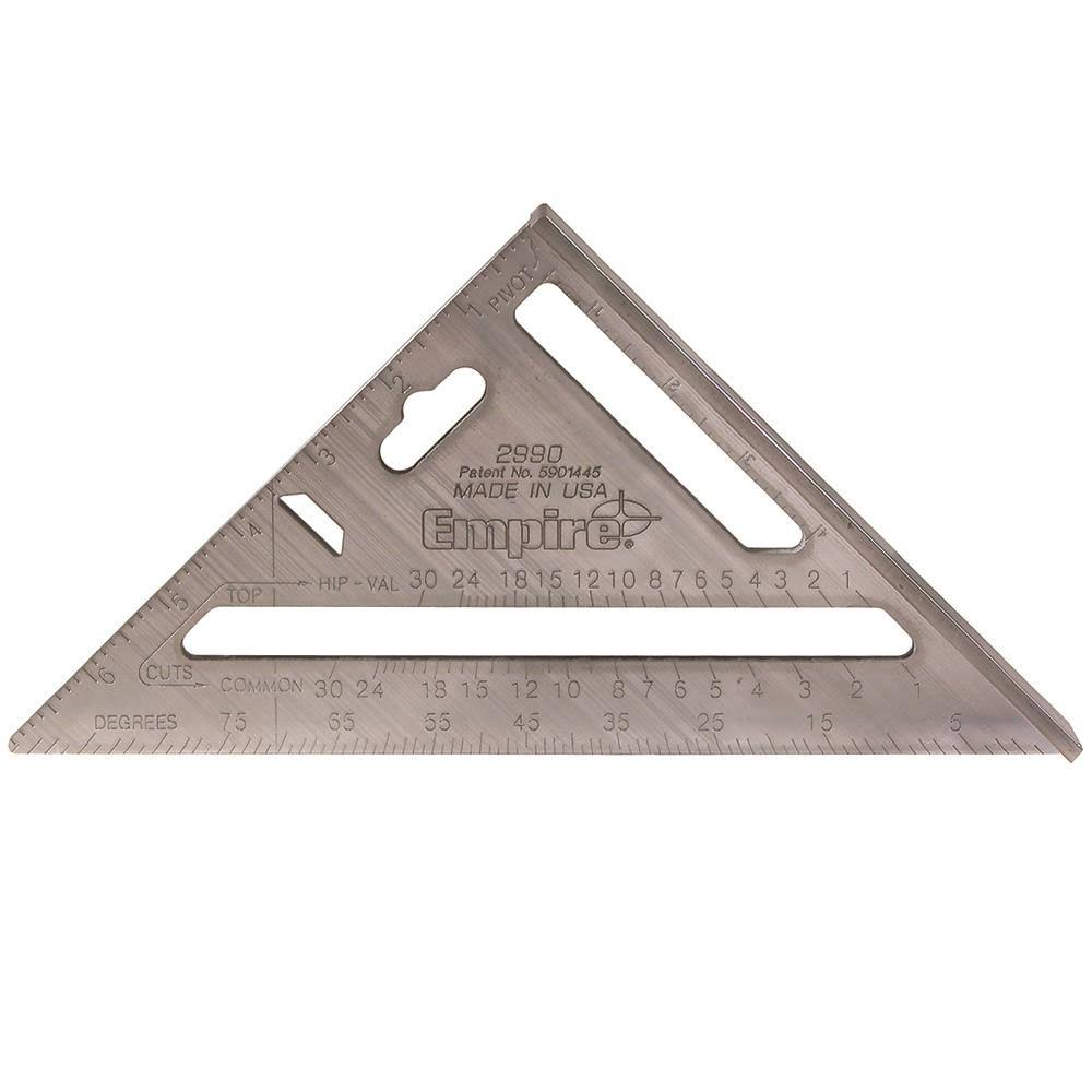 "Empire Level 2990 Heavy Duty Magnum Rafter Square - 7 1/2"" L"