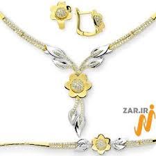 گالری تصاویر سرویس طلا و جواهرات عروس جدید