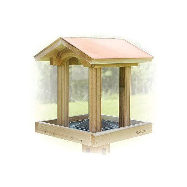 Woodlink Coppertop Hopper Bird Feeder