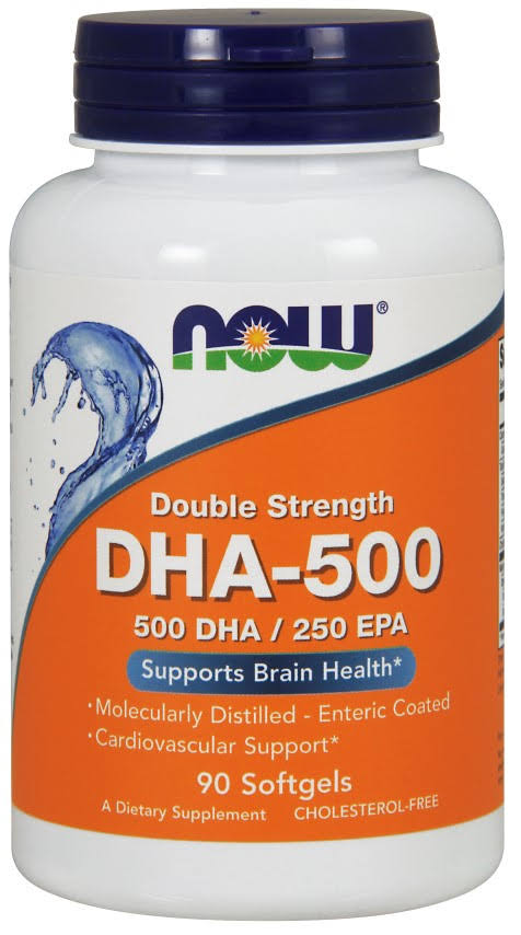 NOW Foods Double Strength DHA-500