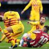 Pique knee injury leaves Barcelona in defensive woe ahead of ...