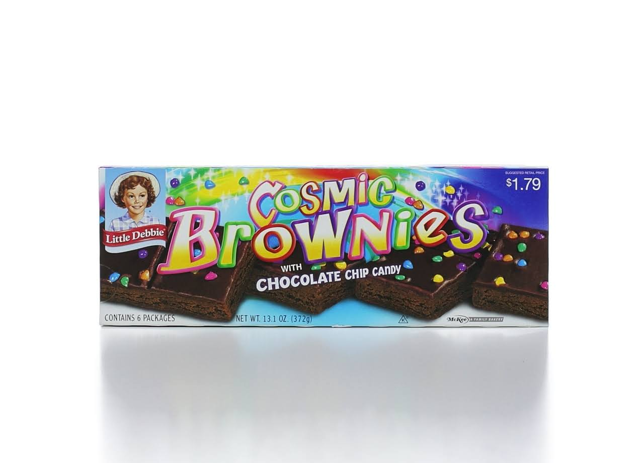 Little Debbies Cosmic Brownies with Chocolate Chips Candy - 6ct, 13.1oz
