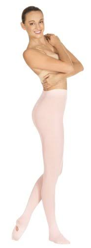 Eurotard 210 Adult Convertible Seamless Tights Theatrical Pink Small Medium