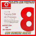 Tarjeta Sim Prepago Vodafone Xs8 - Xs 8 Internet Movil 3g